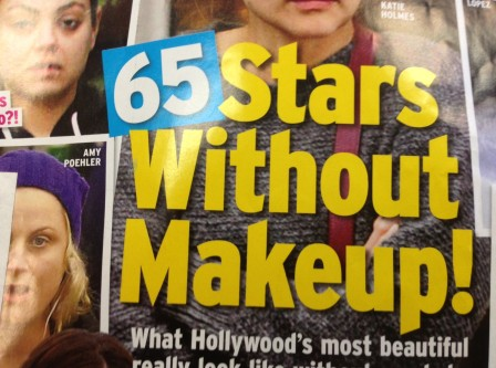 Stars Without Makeup! What Hollywood's most beautiful really look like.